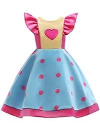 zolimx ropa bebe niñas Vestidos Niñas Fiesta, Zolimx 3-8 Años Ropa de Bebé Niña Bowknot Boda Dama de Honor Desfile Vestido de…