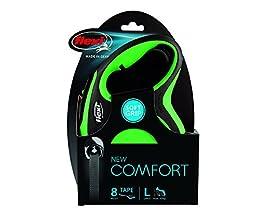 flexi New Comfort Tape, L, 8m, grün
