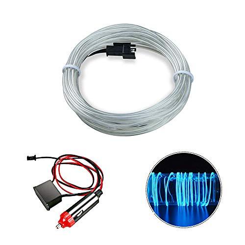 Lampade a LED impermeabili da 5 m, HopeU5® Ice blue Cambiare illuminazione ambientale Kit completo di nastro LED con telecomando per la decorazione dell'auto