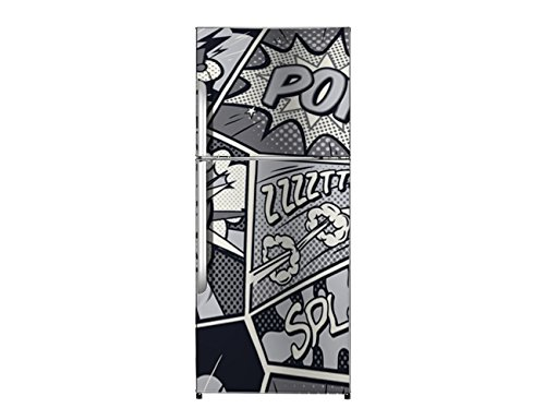 Vinilo Frigorífico Comic 200x60cm | Varias Medidas