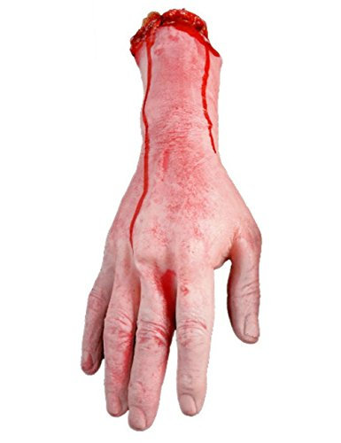 THEE Horror Blut Realistische Prothese Getrennten Arm Gebrochenen Hand Fuß Streich Trick Halloween Party Geisterhaus Dekoration (Abgetrennte Hand Kostüm)
