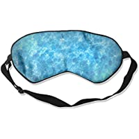 Eye Mask Eyeshade Blue Liquid Water Sleeping Mask Blindfold Eyepatch Adjustable Head Strap preisvergleich bei billige-tabletten.eu