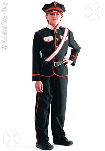 Costume carabiniere uomo 6 a 7 anni
