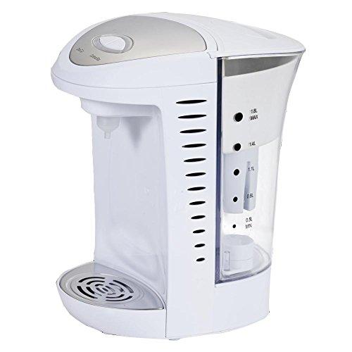 wasserbereiter, Sekunden Kochend Sans BPA 1,8 Liter, 1850-2200W Abnehmbarer Wassertank Wasserfilter , white ()