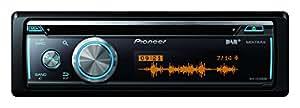 Pioneer DEH-X8700DAB Bluetooth Noir récepteur multimédia de voiture - Récepteurs multimédias de voiture (4.0 canaux, AM,DAB+,FM, MOSFET, 3 lignes, LCD, Noir)