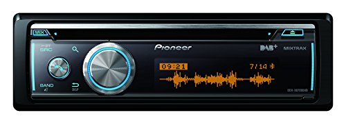 Pioneer DEH-X8700DAB | CD Autoradio mit DAB+, USB, AUX,iPod/iPhone Direktsteuerung  |Android Media Access | Bluetooth Freisprecheinrichtung | 200 Watt - Ipod-kabel Cd