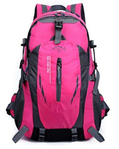 Borsa a tracolla bottiglia d'acqua da uomini e donne equitazione alpinismo zaino borsa impermeabile sport outdoor multi-funzione , orange rose red