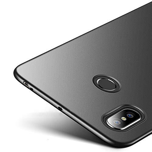 Richgle Schwarz Sehr Dünn Hülle Schutzhülle Case für Xiaomi Mi Max 3 RG00161