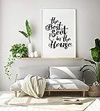 Le meilleur siège dans la maison imprimer, siège de toilette Art, Art de la salle de bain, art Vestiaire, décalque de siège de...