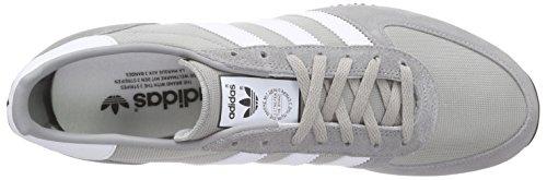 adidas Herren Zx Racer Laufschuhe Grau (Mgh Solid Grey/Ftwr White/Core Black)