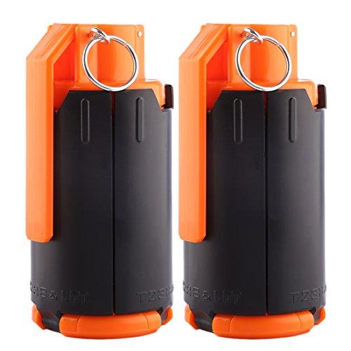 Jo332Bertram 2PCS Grenade à Jouet, Grenade de l'eau Water Bullet Bomb Grenade à Jouet Jeu pour Nerf Rival