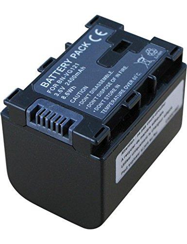 Akku für JVC GZ-MS150HEU, Hohe Leistung, 3.6V, 2400mAh, Li-Ionen