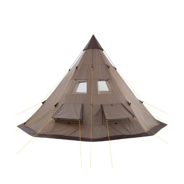 CampFeuer - Teepee Tent, Tipi brown 4