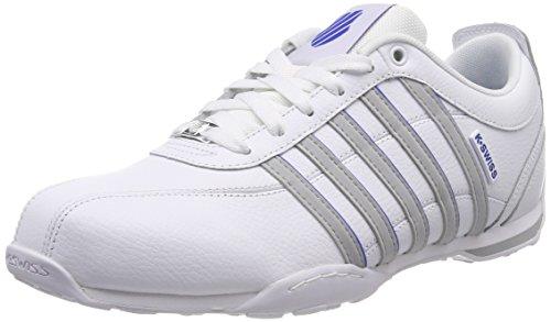 K-Swiss Herren Arvee 1.5 Sneaker, Weiß (Whit/Highrise/Strng Blu 185), 44 EU