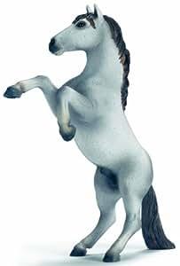 Schleich - 13621 - Figurine - Animaux - Mustang Blanc Se Cabrant