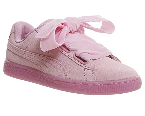 Puma Suede Heart Reset Wns 36322902, Turnschuhe Rosa (Prism Pink-Prism Pink)
