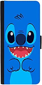 Snoogg Cute Blue Inface Designer Protective Phone Flip Case Cover For Xiaomi Redmi Note Prime