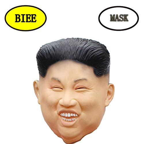 BIEE Halloween-Kostüm-Party-Latex-Menschliche Hauptmaske Masken - Kim Jong Un