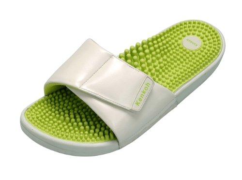 kenkoh-the-japanese-reflexology-massage-health-sandal-for-ladies-green-ivory-size-uk-8-eu-41