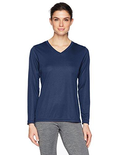 Augusta Femme 1788à manches longues Évacuant T-shirt Bleu - Bleu roi