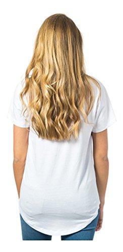 Rip Curl Damen Mastella Kurzarm T-Shirt Optisches Weiß