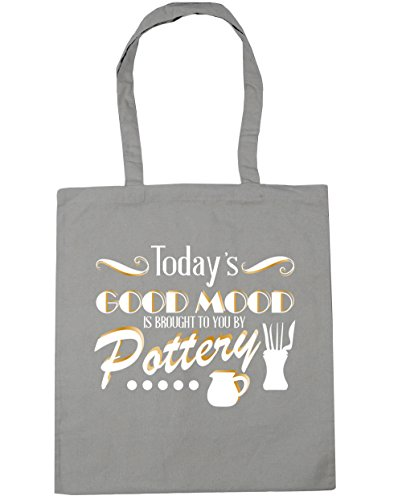 hippowarehouse-todays-good-mood-is-brought-to-you-by-pottery-tote-shopping-gym-beach-bag-42cm-x38cm-