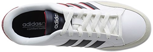 adidas Courtset, Scarpe Low-Top Uomo Multicolore (Ftwwht/Conavy/Powred)