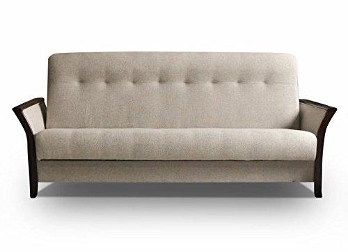 mb-moebel Couch mit Schlaffunktion Sofa Schlafsofa Wohnzimmercouch Bettsofa Ausziehbar Barbados
