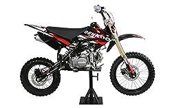 """CENKOO-140H 140cc 17/14"""" Ölkühlung Cross Dirt Bike Pit Bike Schwarz"""