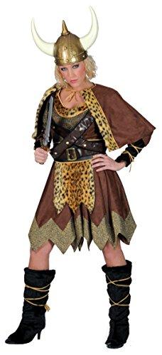 Barbara Viking Wikinger Kostüm Erwachsene (Wikinger Frau Kostüme)