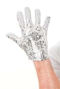 michael jackass bo selecta silver sequin glove