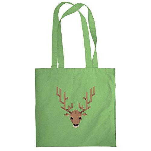 Texlab–Simple Stag–sacchetto di stoffa Verde chiaro