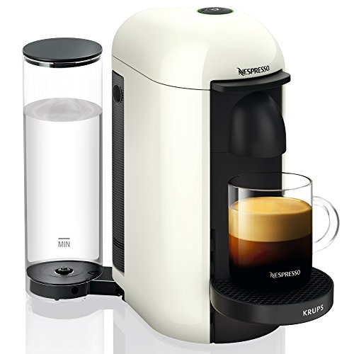Krups YY3916FD Machine à Café Nespresso Vertuo + Plus Capsules Espresso Lungo Mug Alto Blanc