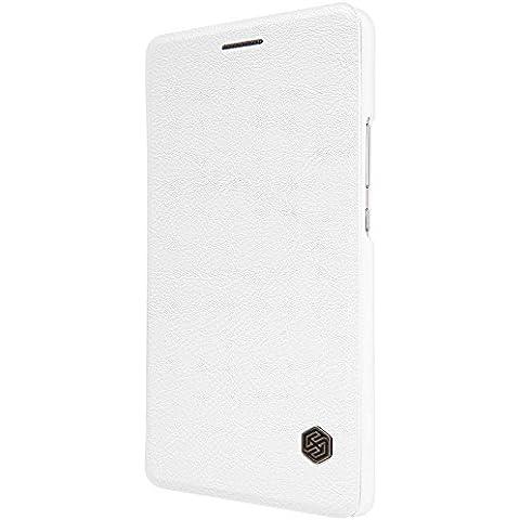 Nillkin Qin Funda de piel para Huawei P9lite, color blanco