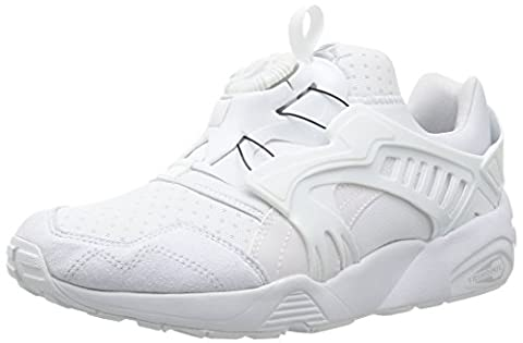 Puma TRINOMIC DISC BLAZE Chaussures Mode Sneakers Unisex Blanc Trinomic