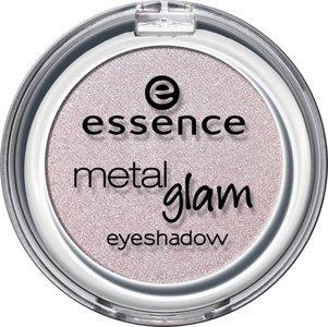 Essence metal Glam eyeshadow, Ombre à paupières avec texture métallique pour un effet intense brillant de couleur n°23 Vintage lilac, 2.7 g, 0.09 oz.