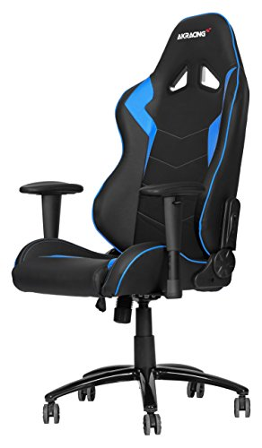 41TnDtgEvdL - AKRACING silla mesa para Gaming Faux Piel Blanco