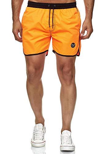 Kayhan Herren Badeshort Sport, Orange XL