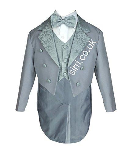 do Anzug, Taufe, Hochzeit Anzug Tuxedo für Baby und Jungen Smoking (Schwanz Smoking)