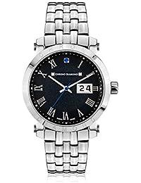Chrono Diamond Reloj con movimiento cuarzo suizo Man 10620C Nestorius