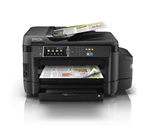 Epson EcoTank ET-16500 4-in-1 Tinten-Multifunktionsgerät (Kopie, Scan, Druck, Fax, A3, ADF, Full-Duplex, WiFi, Ethernet, Display, USB 2.0), großer Tintentank, hohe Reichweite, niedrige Seitenkosten Großes Display