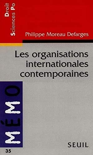 Les Organisations internationales contemporaines