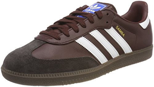 watch 6549c e8af5 adidas Mens Samba Og Gymnastic Shoes, Mystery Core BlackNight Brown, UK 9