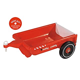 BIG 56292 - Bobby Caddy Car Anhänger, rot