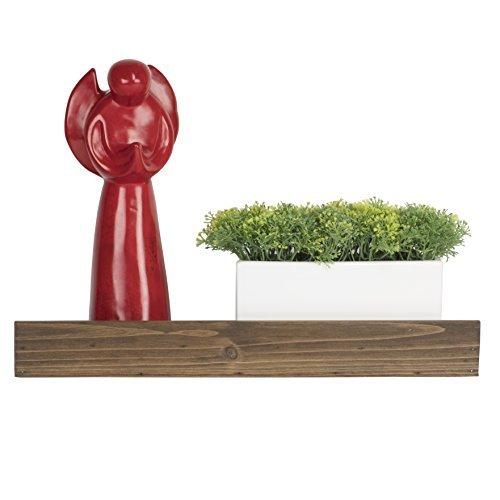 ArtifactDesign Wand, 43,2cm wieder Holz perfekt für Home Decor, Bücher, Blumen, Bild Rahmen Display, Hand gebeizt Walnuss-Finish, holz, walnuss, 43,2 cm -