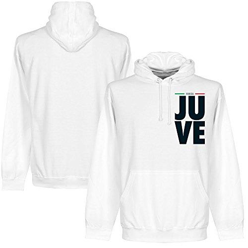 Forza Juve – Felpa con cappuccio bianco