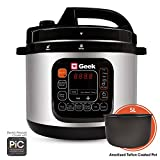Geek Robocook Automatic Electric Pressure Cooker with 11 in 1 Function, Feather Touch