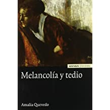 Melancolía y tedio (Filosofia)