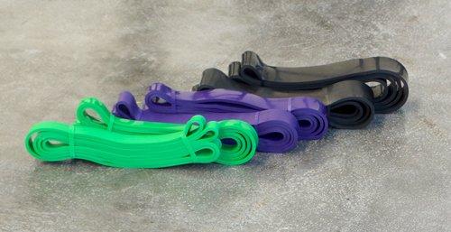 Maxxus Power-Bands, Flex-Bänder für das Krafttraining, Erhöhung von Widerständen an Kraftgeräten, Crosstraining