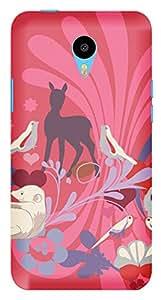 TrilMil Printed Designer Mobile Case Back Cover For Meizu M1 Note